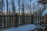 Enjoy those iconic Telluride sunsets from your deck