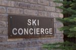 Guests have access to Ski Concierge downstairs provided by Black Tie