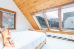 Skylights that allow for gorgeous mountain views