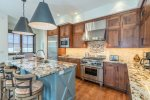 Take some time to enjoy this gorgeous, fully-equipped kitchen