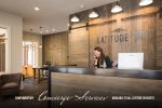 Guests have access to the Latitude 38 Club House with on-site concierge services