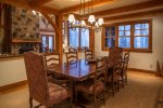 Large formal dining area open to the kitchen, Great Room, seating for 10