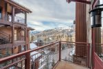Enjoy the great views off of your private deck