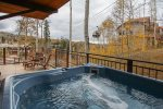 Tramontana 2 - Private hot tub located on deck