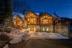 True ski-in ski-out Mountain Village home