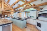 Fully-equipped kitchen is fit for a chef
