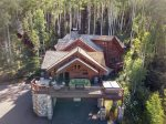 Located right off of Chair 10 nestled in a wooded glade of aspens