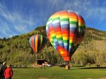 Town of Telluride Balloon Festival in early June