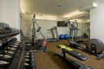 On-site private gym