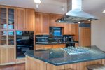 A fully functional kitchen with ample storage means plenty of room for snacks
