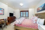 Second guest bedroom with a king-sized bed on a private level