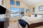 2nd guest bedroom with a queen-sized bed and a twin trundle bed and incredible views