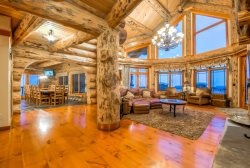 The Ultimate Luxury  - Unbelievable Craftsmanship And The Absolute Best Yampa Valley Views - Perfect Steamboat Springs Log Home