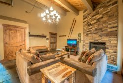 Spacious unit, beautifully upgraded, right across the slopes in Steamboat Springs.