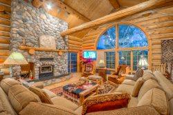 Perfect Mountain Log Home.