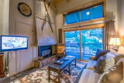 Beautiful studio plus loft with vaulted ceilings on the mountain.