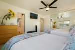 Hall art in common area. Elevator to Unit 3 on right, stairs to Unit 3 on Left. San Diego Beach House Rental
