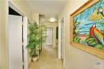 Entry Hall Studio Door on Left. San Diego Beach Vacation Rental