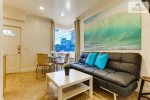 Surf Stars Studio Comfortable Living Space