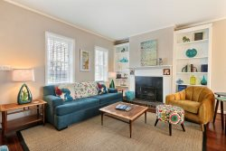 Perfect Getaway for the Whole Family | Historic District Home | Comfortable and Stylish