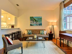 Heated Pool | 5*Clean | Flex Cancellation | Grocery Delivery | Great Savannah vacation home with courtyard and fountain centrally located in the Savannah Historic District and by Forsyth Park
