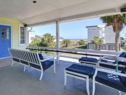 Great beachside affordable family home 100 feet to the beach!