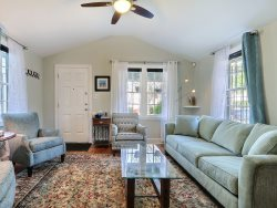 Heated Pool Access | 5*Clean | Flex Cancelation | Concert Tickets| Beautiful Cottage Style Home on Charlton Street in Downtown Savannah