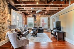 Heated Pool Access | 5*Clean | Flex Cancelation | Stylish Modern Loft in the Heart of Downtown Savannah with Parking!