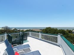 Roof Top Deck with Panoramic Ocean Views on Tybee Island