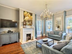 Heated Pool | 5*Clean | Flex Cancellation | Grocery Delivery | Stunning Townhouse Steps from Forsyth Park