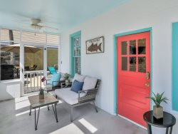 Heated Community Pool   5*Clean   Flex Cancelation   Perfect Beach Getaway within Walking distance of everything!