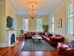 Heated Pool | 5*Clean | Flex Cancellation | Grocery Delivery | Sleeps 12, 4 beds, 5 baths, Historic, Walk Everywhere