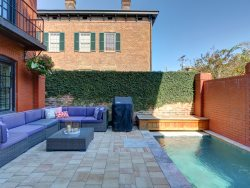 Stay in the Lap of Luxury in the Heart of the Historic District with a Heated Pool!