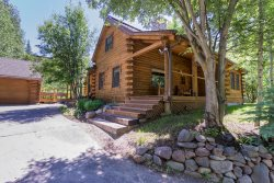 Downtown Ketchum Updated 3 BR Log Home with A/C