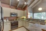Updated Modern Kitchen with Stainless Steel Appliances