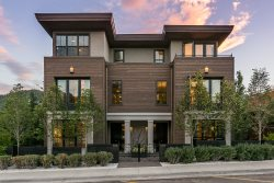 Stunning Downtown Ketchum Residence with 4 Bedroom Suites, A/C