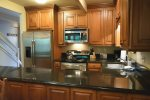 Kitchen with Granite Counters, Stainless Steel Appliances