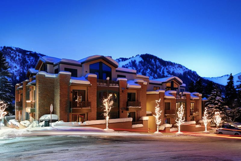 Amazing Olympic Terrace Downtown Ketchum Luxury Penthouse With Baldy Views And A/C