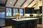 Gourmet Kitchen, Granite Counters, Counter Seating