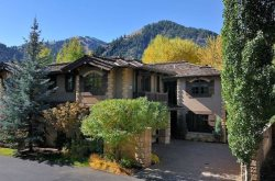 Big Wood Riverfront Luxury 4,200+ SF Ketchum Townhome