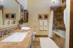 BR 3- Ensuite Bath with Shower / Tub Combo