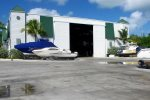 Full service marina with dry boat storage