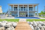 Casa Dulce at Sombrero Beach ~ single family home with heated pool and 60' dock