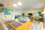 Natural Lighting Highlights the Main Room  Florida Keys Vacation Rental