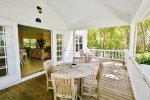 Large Picture Windows Let In Plenty of Sunshine and Lead to the Private Back Porch  Florida Keys Vacation Rental