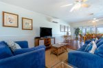 Ample and Comfortable Seating is Located Throughout the Home - Florida Keys Vacation Rental