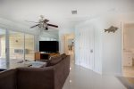 The Large Hot Tub in the Screened Porch Features Canal Views  Florida Keys Vacation Rental
