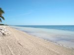 Directly Out Back You Find a Shady Tiki Hut and Oceanfront Grill  Florida Keys Vacation Rental