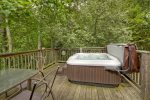 Hot Tub on the Open Deck