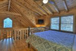 Main Floor Bedroom with Bunk Beds Twin & Full